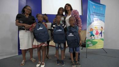 Photo of Vicepresidencia entrega mochilas y útiles escolares a huérfanos por feminicidios