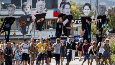 Photo of Realizan protestas en frontera francesa en contra de cumbre del G7