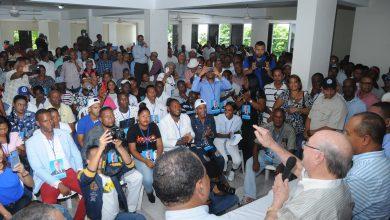 Photo of Hipólito Mejía juramenta cientos de dirigentes de San Juan de la Maguana paran a apoyar su candidatura en el PRM