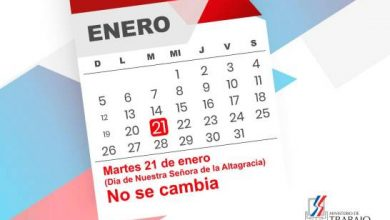 Photo of Feriado del Día de la Altagracia no se cambia