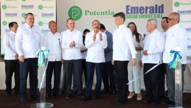 Photo of Danilo Medina inaugura parque solar Canoa aportará 25 megavatios