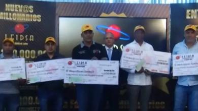 Photo of LEIDSA entrega RD$125 millones a cinco nuevos ganadores