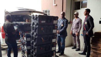 Photo of Trasladan equipos del voto automatizado bajo custodia hacia la JCE