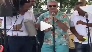 Photo of Gonzalo Castillo aparece bailando y cantando a ritmo de merengue