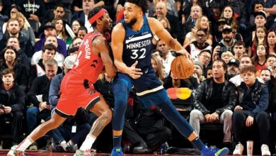 Photo of Towns anota 23 en la derrota de los Wolves