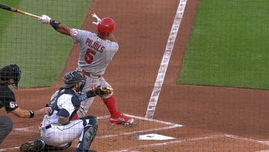Photo of Pujols pega su HR 659 y está a uno de Mays