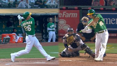 Photo of Poder de Chapman, Olson eleva a Oakland