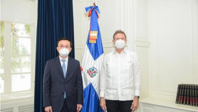 Photo of Canciller Roberto Álvarez se reúne con embajador Zhang Run, de China