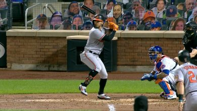 Photo of Orioles aplastan a Mets con cuatro jonrones