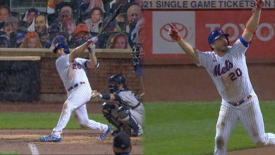 Photo of Mets hunden a Yankees con HR de Alonso