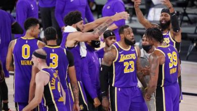 Photo of LeBron James y Lakers se instalan en la final de la NBA