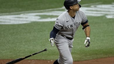 Photo of Stanton fija récord de NY con racha de HR