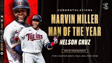 Photo of Nelson Cruz gana el Premio Marvin Miller