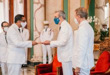Photo of Presidente Luis Abinader recibe cartas credenciales de embajadores
