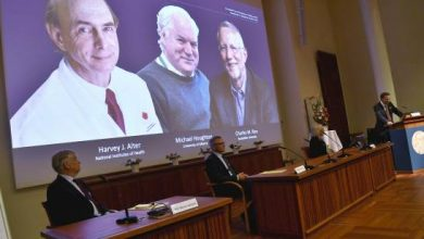 Photo of Nobel de medicina premia el hallazgo de virus de hepatitis C