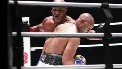 Photo of El regreso de Mike Tyson a los 54 años termina en empate con Jones Jr.