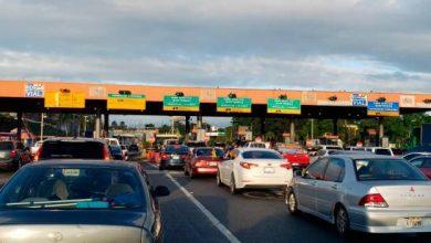Photo of Aumenta flujo de vehículos en peaje de la autopista Duarte