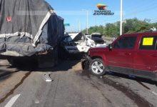 Photo of Accidente múltiple congestiona Km 22 de Las Américas