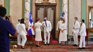 Photo of Presidente Luis Abinader recibe cartas credenciales de embajadores