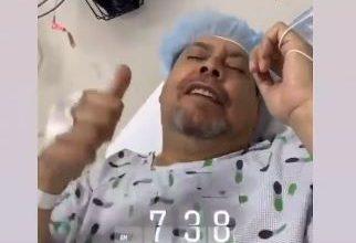 Photo of Fernando Villalona es sometido a cirugía bariátrica