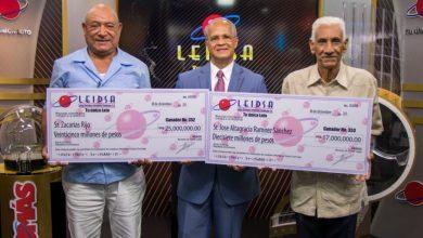 Photo of Bombero y camionero ganan RD$42 MM de Leidsa