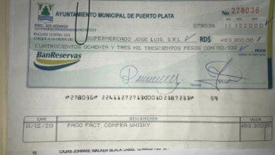 Photo of Alcaldía de Puerto Plata denuncia red criminal falsifica cheques a nombre del cabildo