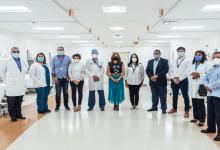 Photo of INVI entrega área de tratamiento para COVID-19 en el hospital Dr. Luis E. Aybar