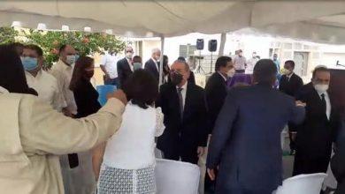 Photo of Danilo Medina acude al sepelio de César Prieto