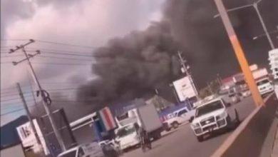 Photo of Incendio afecta empresa Congelam en el kilómetro 14 autopista Duarte