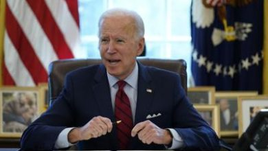 Photo of Joe Biden defiende su andanada de decretos presidenciales