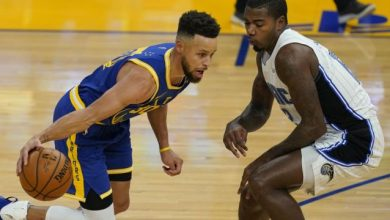 Photo of Curry anota 10 triples, Warriors vencen a Magic